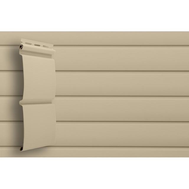 Сайдинг виниловый Grand Line Блок-хаус D4,8 GL Amerika Бежевый