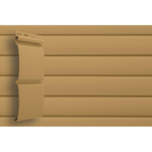 Сайдинг виниловый Grand Line Блок-хаус D4,8 GL Amerika Карамельный