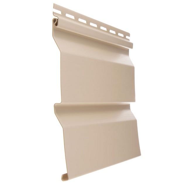 Сайдинг виниловый Docke Standard D4D Крем-брюле